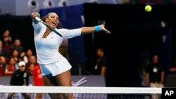 Serena Williams, Pasay city, Philippines Dec. 6, 2015.
