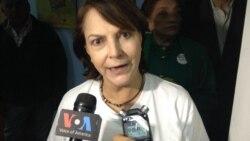 Mitzi Capriles de Ledezma habla con la VOA