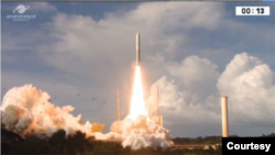 Myanmar Sat 2 ပါ၀င္တဲ့ Intelsat 39 ဆက္သြြယ္ေရးၿဂိဳလ္တု လႊတ္တင္ (ဓါတ္ပံု-Space)