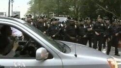 Аресты на Бруклинском мосту