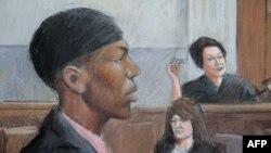 Umar Farouk Abdulmutallab ra trước tòa án ở thành phố Detroit, Hoa Kỳ