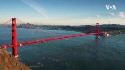 บทเพลงแห่งสายลมจากสะพาน 'โกลเดนเกต' ที่ ซาน ฟรานซิสโก