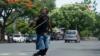 Semáforos de Managua reflejan la crisis de desempleo en Nicaragua