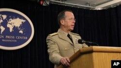 美国最高军事官员、海军上将马伦