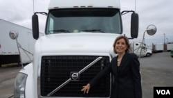 Barbara Ejers, predsednica i direktorka kompanije za selidbe Epl Transfer u Frederiksburgu u Virdžiniji.