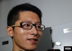 參與大專學界佔中商討日的大陸學生凌旭峰認為,在香港學習的民主經驗將來或者可以運用在大陸