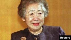 ကုလသမဂၢ ဒုကၡသည္မ်ားဆိုင္ရာ ပထမဆံုးအမ်ိဳးသမီး မဟာမင္းႀကီးအျဖစ္ တာဝန္ယူခဲ့တဲ့ ဂ်ပန္ႏိုင္ငံသူ Sadako Ogata (ေဖေဖာ္၀ါရီ၊ ၀၂၊ ၂၀၁၉)