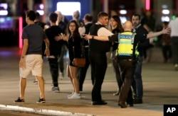 پلیس لندن مشغول تحقیقات است.
