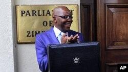 津巴布韦财长比提11月24日在哈拉雷