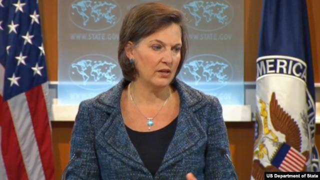 Juru bicara Departemen Luar Negeri Amerika, Victoria Nuland mengatakan kepada wartawan hari Selasa (15/1) bahwa Washington mengutuk ungkapan anti-Yahudi yang pernah diucapkan Presiden Morsi sebelum terpilih menjadi Presiden (Foto: dok).
