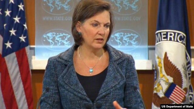 빅토리아 눌런드 미 국무부 대변인(자료사진).