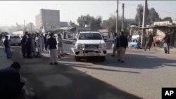 지난해 12월 아프가니스탄 동부 낭가하르 주에서 발생한 총격 현장. (자료사진)