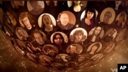 Virtual Choir 2.0 - on YouTube - features more than 2,000 singers from around the world.
