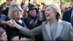 Hillari Klinton səs verir