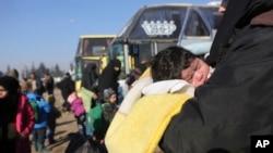阿勒頗疏散行動繼續進行。