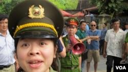 越南警方阻止民眾前往中國大使館