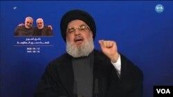 Hasan Nasrallah, pemimpin gerakan Syiah Lebanon Hizbullah (foto: dok).