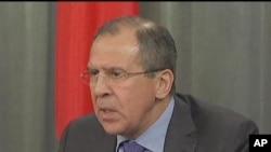 لاوروف گفت مسکو میخواهد کنفرانس راجع به سوریه در اولین فرصت ممکن برگزار شود