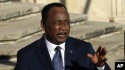 Le président Mahamadou Issoufou du Niger