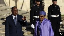 Le président du Niger, Mahamadou Issoufou, à Malte, le 11 novembre 2015. (AP Photo/Alessandra Tarantino)