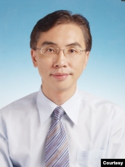 位於台北的亞太和平研究基金會執行長董立文(照片提供:董立文)