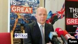 Böyük Britaniyanın xarici işlər naziri Uilyam Heyg