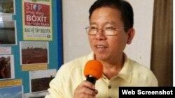 Báo ABC News của Úc loan tin ông Châu Văn Khảm bị Việt Nam bắt giữ. Photo Viet Tan via ABC News