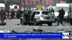 Car Explosion Kills 1 in Berlin