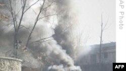 سه نفر در اثر بمب گذاری انتحاری در نزديکی سفارت آمريکا در کابل کشته شدند