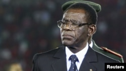 Teodoro Obiang Nguema Mbasogo, président de la Guinée équatoriale