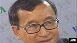 Tòa án Campuchea ra trát bắt thủ lãnh đối lập Sam Rainsy