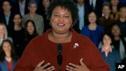 Đảng viên Dân chủ Stacey Abrams.