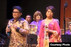 Personil Elfa's Singers, Agus Wisman dan Lita Zein (Dok: Wirawan Pandji Ismudjatmiko)