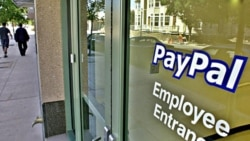 FILE - The exterior of PayPal Inc. headquarters is seen in downtown Mountain View, California.
