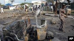 Wurin da bamabamai suka tarwatse a Somalia