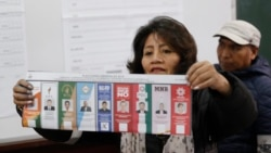 VOA: En Bolivia realizan paro cívico a espera de resultados electorales