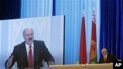 Belarusian President Alexander Lukashenko, 20 Dec 2010
