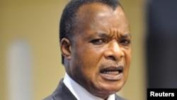 Le président congolais Denis Sassou-NGuesso (Reuters)