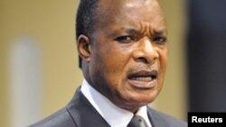 Shugaban Jamhuriyar Kwango Denis Sassou-Nguesso