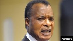 Le président congolais Denis Sassou-NGuesso