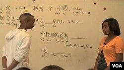 Nastava mandarinskog jezika u školi Walter Payton u Chicagu