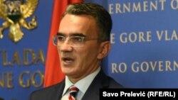 Montenegro-- Minister of Justice Vladimir Leposavic Podgorica, 18 December 2020