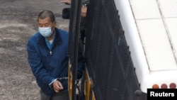 香港壹传媒创立人黎智英涉嫌欺诈案不准保释