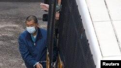 香港壹傳媒創辦人黎智英涉欺詐案不准保釋 (路透社照片)