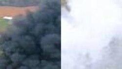 گزارش: خروج قطار از ريل در نزديکی مشهد و سقوط هواپيمای شرکت تابان در فرودگاه مشهد