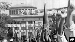 红卫兵外交:苏联驻华使馆前的反修示威(1966年)