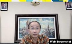Ketua Kadin Jawa Timur, Adik Dwi Putranto, berharap pemerintah segera pulihkan sektor pariwisata melalui viksinasi masif dan pemberian keringanan pajak (ss Petrus Riski-VOA)