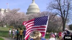 El Comité Judicial del Senado inicia este jueves el debate sobre la reforma migratoria en Estados Unidos. [Foto: Mitzi Macías, VOA].