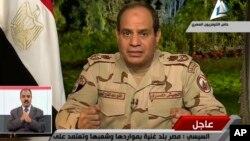 이집트 엘시시 국방장관이 27일 TV로 녹화 중계된 성명을 통해 대통령 선거에 출마하겠다고 밝혔습니다.