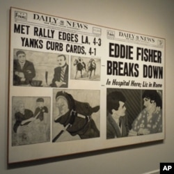 Hand-painted headline canvases from the early 1960s marked the start of Andy Warhol's career.